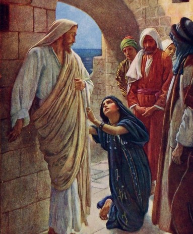 Jesus and the SyroPhonecian woman
