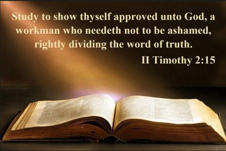 rightly dividing God's word