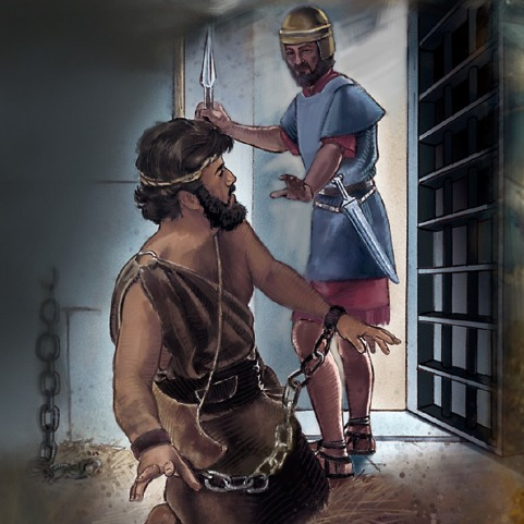 John the Baptist beheaded in prison