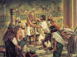 Joseph reunited with his brothers