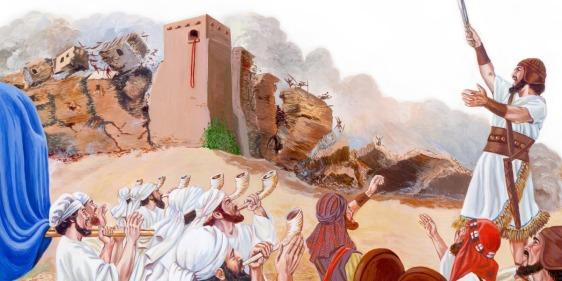 walls of Jericho fall