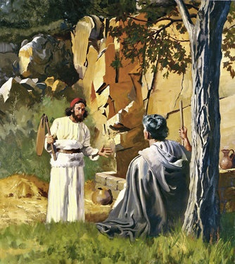 Gideon talks to the Angel