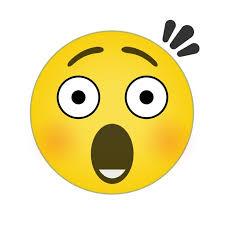 surprised emoji