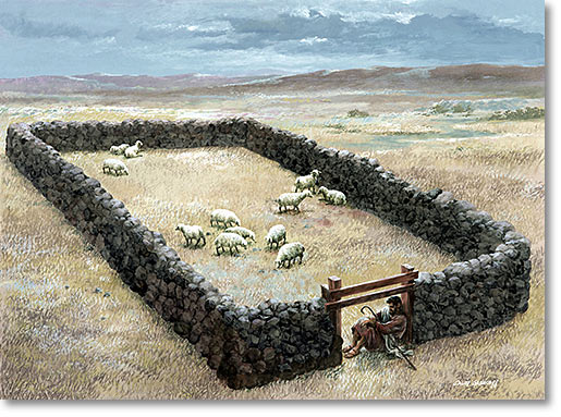 the door of the sheepfold